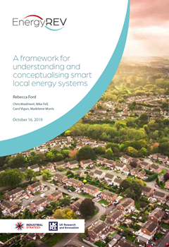 A Framework for Understanding and Conceptualising Smart Local Energy Systems