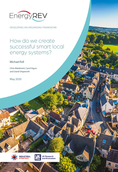 Developing an Organising Framework: How do we Create Successful Smart Local Energy Systems?