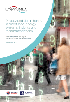 Privacy and Data Sharing in Smart Local Energy Systems - Reports - November 2020 and February 2021